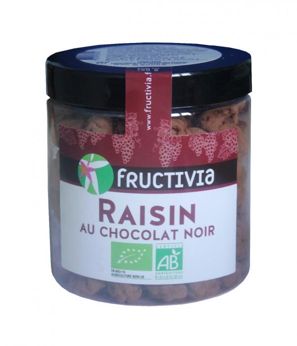 raisins au chocolat bio