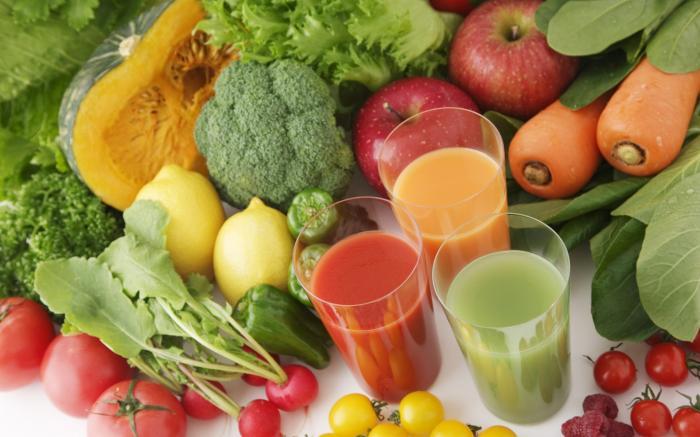 jus de légumes bio