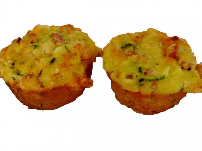 muffin courgette curcuma