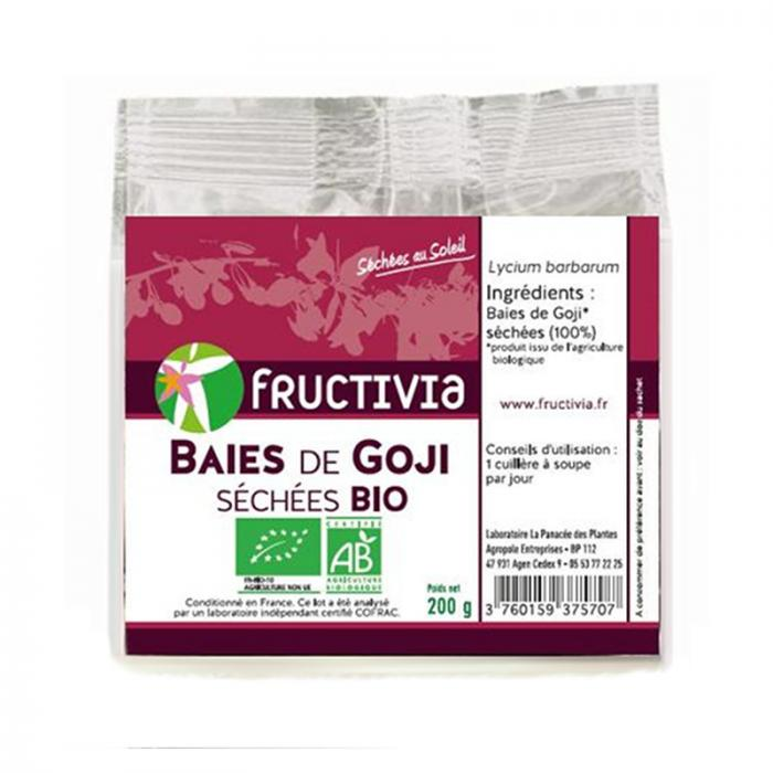 BAIES DE GOJI SECHEES BIO* 200 G