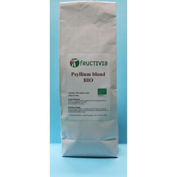 Psyllium blond bio 300 g- Fructivia