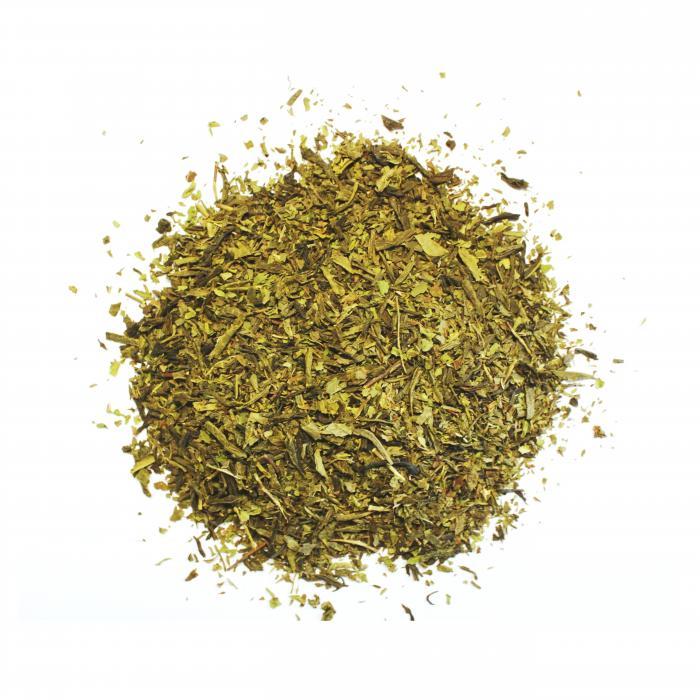 thé vert menthe bio
