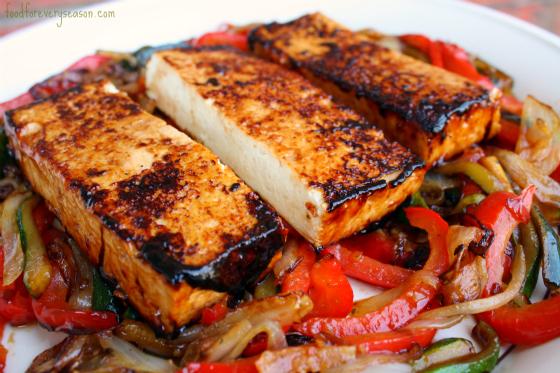 Légumes au tofu