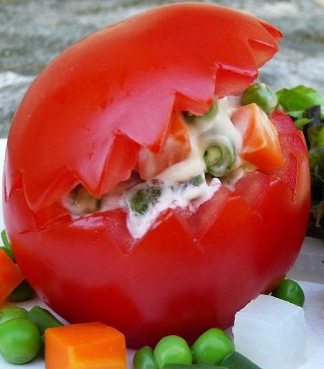 tomate macedoine