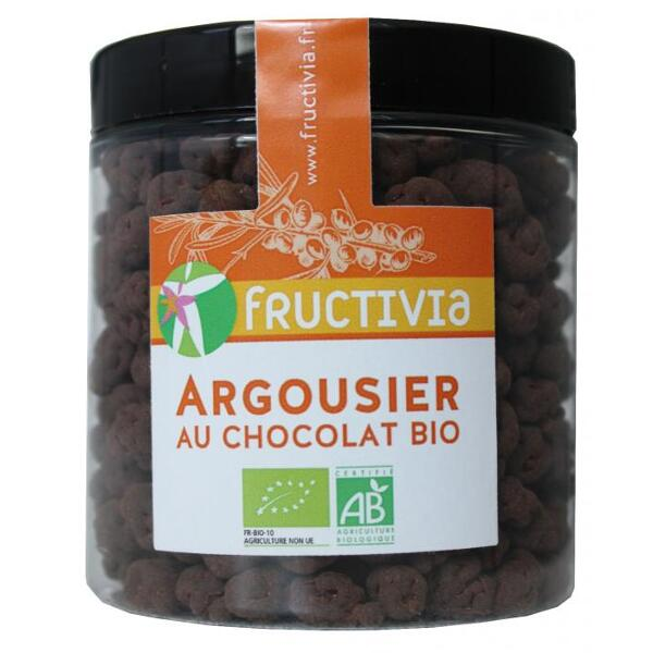 Argousier au chocolat bio* (pot 150g)