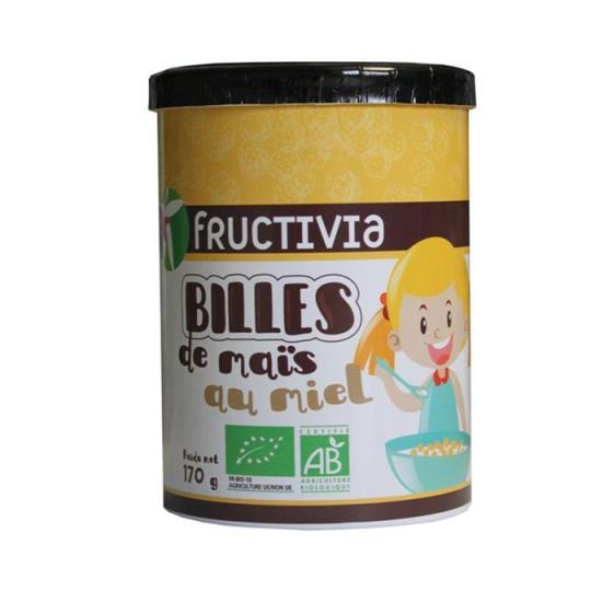 billes de maïs au miel bio
