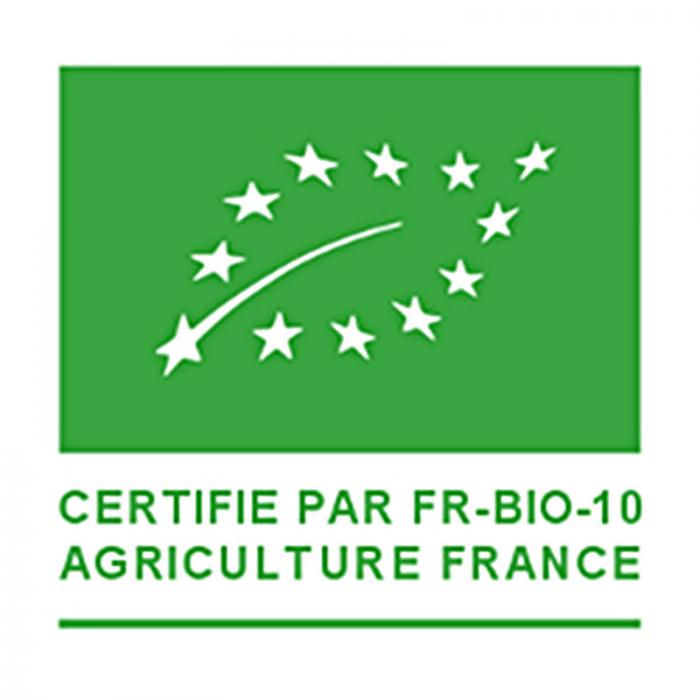 Produit certifié Bio par FR-BIO-10