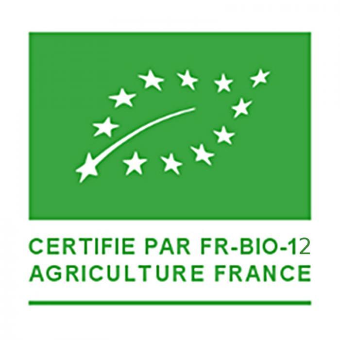 Produit Bio certifié FR-BIO-12