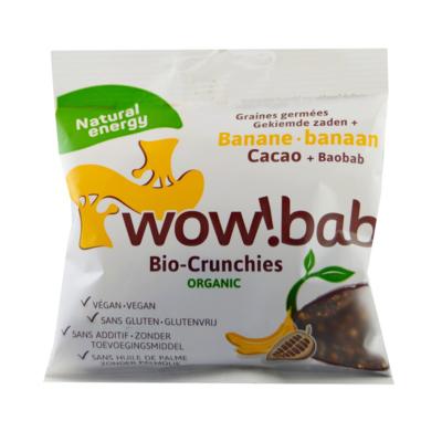 crunchies bio banane chocolat baobab