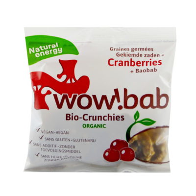 Crunchies wowbab cranberries