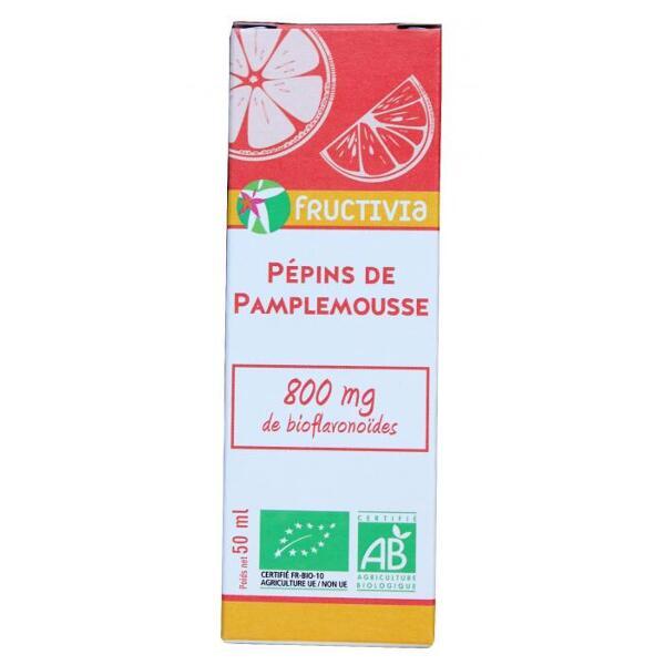 extrait pépins de pamplemousse bio fructivia