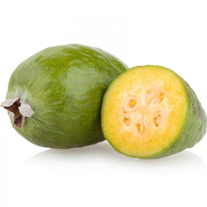 feijoa, goyave ananas