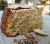 image d'un gâteau aux amandes douces bio