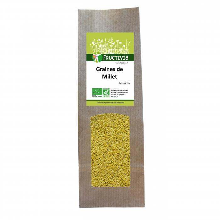 graines de millet bio