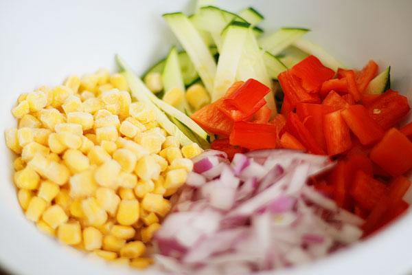 Assiette de légume