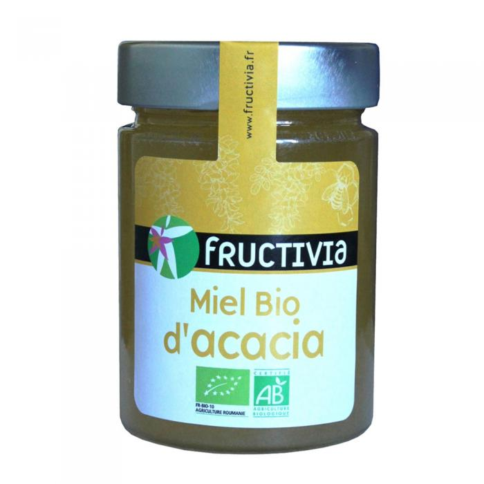 Miel d'acacia Bio Fructivia 450g