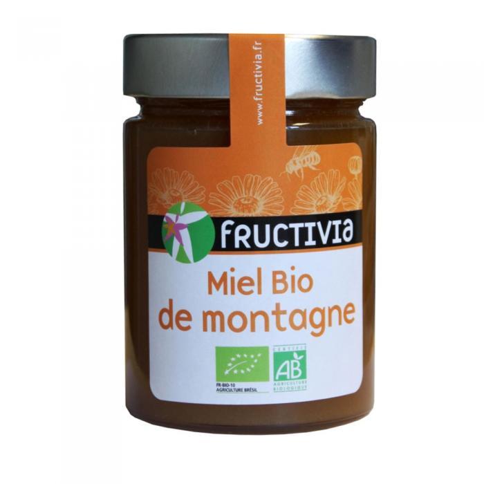 Miel de montagne Bio 450g Fructivia