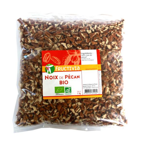 noix de pécan bio sachet 1kg Fructivia