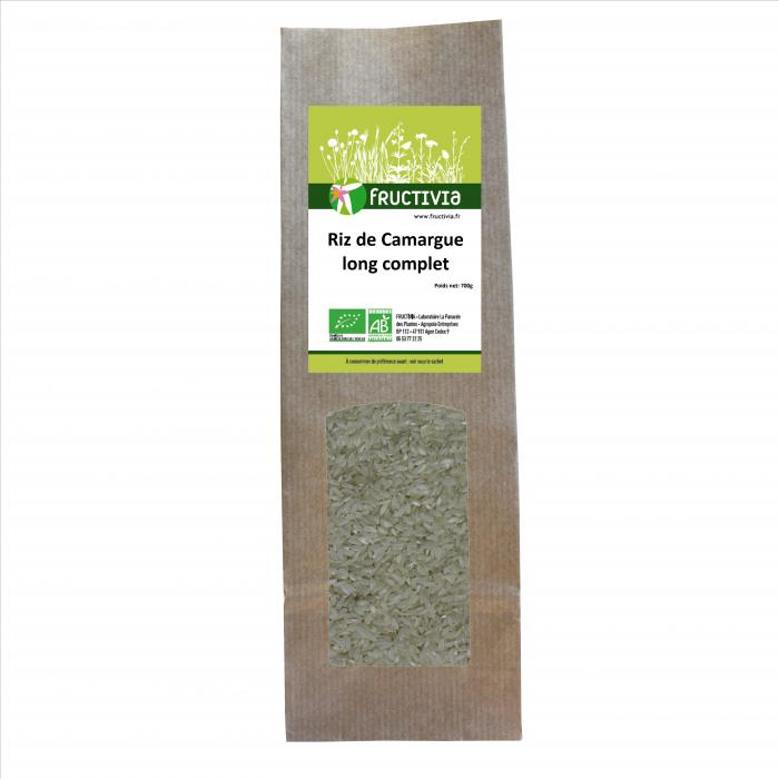 riz de camargue long complet bio
