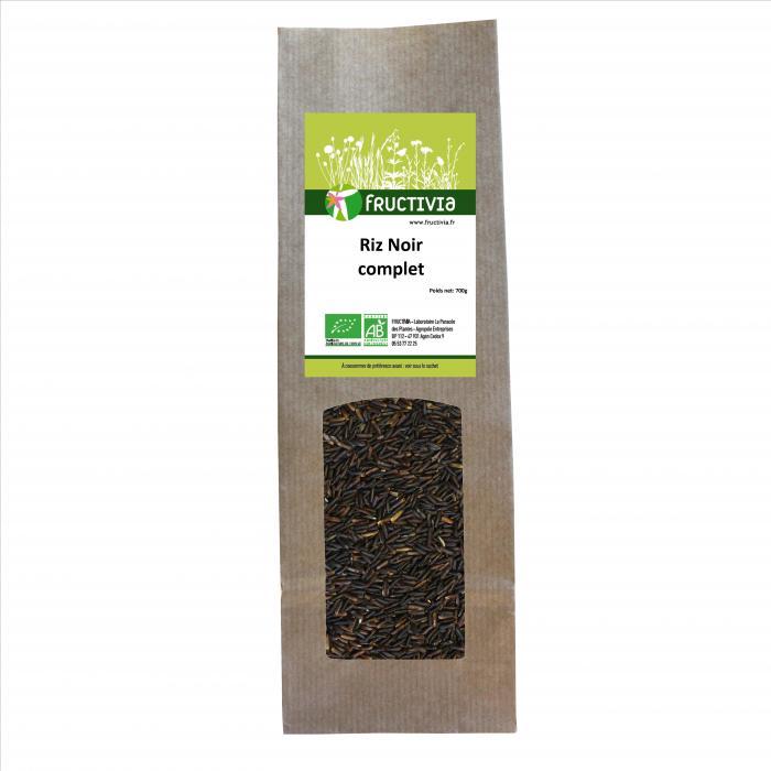 riz noir bio
