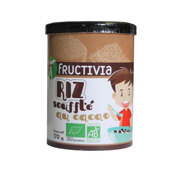 riz soufflé au cacao bio
