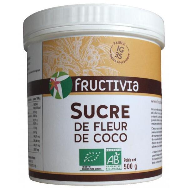 sucre de fleur de coco bio
