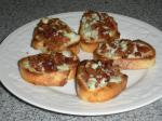 Crostini de Bacon et Bleu